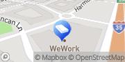 Map WeWork Austin, United States