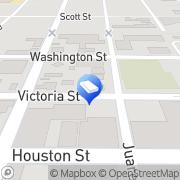 Map Sheldon Weisfeld PC Laredo, United States