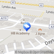 Map Ashdown Funeral Services Sidcup, United Kingdom