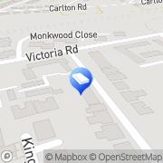 Map Oliver James Property Sales & Lettings Huntingdon, United Kingdom