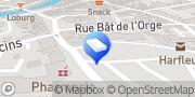 Carte de Agence d'Emploi Manpower Pôle BTP Maintenance Le Havre-Rouen Harfleur, France