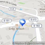 Carte de Le Crep'Breizh Lisieux, France
