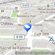 Carte de Groupama Assurances Yvetot, France