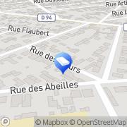 Carte de Art Elec Services Sotteville-lès-Rouen, France