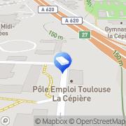 Carte de A.I.Tec Toulouse, France