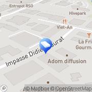 Carte de Neurosys Toulouse, France