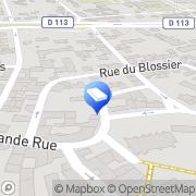 Carte de Mairie Bouafle, France