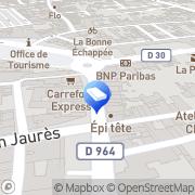 Carte de Agences 3 Gaillac, France