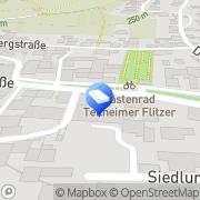Karte Naturnahe Gartengestaltung Rolf Kretzer-Felske Theilheim, Deutschland