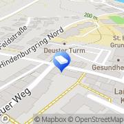Karte K.V.S.Sicherheit u.Dienstleistungsservice Kitzingen, Deutschland