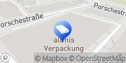 Karte Allmis Verpackungen GmbH Schweinfurt, Deutschland