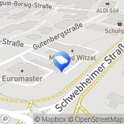 Karte Hegeling GmbH Sennfeld, Deutschland