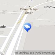 Karte DEUTRANS Rohstoff- und Recycling-Logistik GmbH Peine, Deutschland
