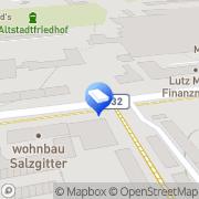 Karte WBV Wohnbau Betreuungs & Verwaltungs GmbH Salzgitter, Deutschland
