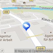 Karte Evangel.Stiftung Alsterdorf Klinikverbund Bad Oldesloe, Deutschland