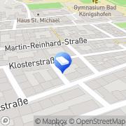 Karte Autokranverleih Weber Bad Königshofen i.Grabfeld, Deutschland