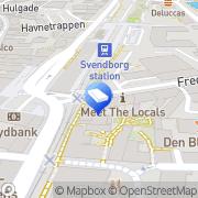 Kort Kontorhotellet F17 I/S Svendborg, Danmark