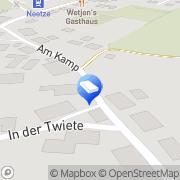 Karte Fritz Klein Transporte Neetze, Deutschland