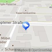 Karte Karl Wismath Füssen, Deutschland