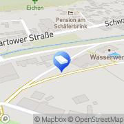Karte VersorgungsBetriebe Elbe GmbH Boizenburg/ Elbe, Deutschland