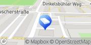 Karte Fa. J. Brendle Dienstleistungen Augsburg, Deutschland