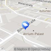 Karte ADV-Alpha Datenverarbeitungs GmbH Augsburg, Deutschland