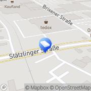 Karte SWG ALABOH SHIPPING AGENCY Augsburg, Deutschland