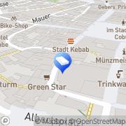 Karte CSI Sparkasse Immobilien Coburg, Deutschland