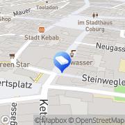 Karte Haas Coburg, Deutschland