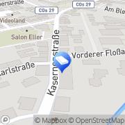 Karte Hörnlein und Feyler Rechtsanwälte Coburg, Deutschland