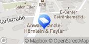 Karte Hörnlein & Feyler Fachanwälte Coburg, Deutschland