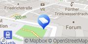 Karte Oliver Guthmann Rechtsanwalt Fürth, Deutschland