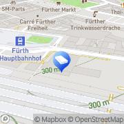 Karte Ottmar Fleischer Notar Fürth, Deutschland