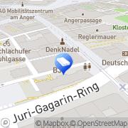 Karte CANCOM GmbH Erfurt, Deutschland