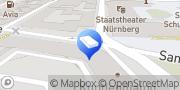 Karte DB Zeitarbeit GmbH Nürnberg, Deutschland