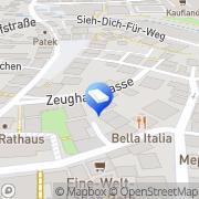 Karte Private-Arbeitsagentur Roth, Deutschland