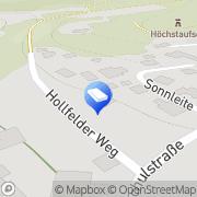 Karte Kachelöfen + Fliesen Hertling Reinhard GmbH Aufseß, Deutschland