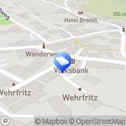 Karte Prager H.W. Rechtsanwalt Wiesenttal, Deutschland