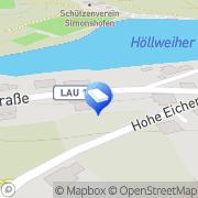 Karte Schlosserei Otzmann Lauf, Deutschland