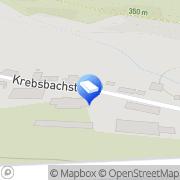 Karte Hans Ultsch GmbH, Hoch- und Tiefbau Küps, Deutschland