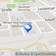 Karte Sener Spedition, Logistik und Gütertransport GmbH Germering, Deutschland