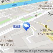 Karte Felder & Felder Architekten Innsbruck, Österreich