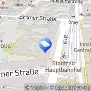 Karte Wohnungseigentum - Tiroler gemeinnützige Innsbruck, Österreich