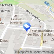 Karte Berchinger Goldschmiede Uhren Schmuck Juwelen Berching, Deutschland