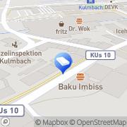 Karte Horn Systemhaus GmbH Kulmbach, Deutschland