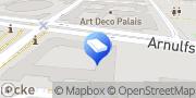 Karte DB Zeitarbeit GmbH München, Deutschland