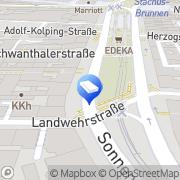 Karte PASIT Professionelle Personallösungen München, Deutschland