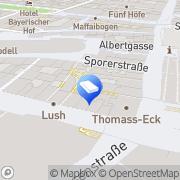 Karte Rechtsanwälte Steinbock & Partner München München, Deutschland