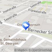 Karte Malerbetrieb Peter Lösel Bayreuth, Deutschland