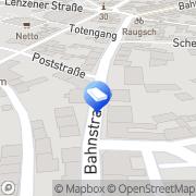 Karte Lothar Beneke Wittenberge, Deutschland